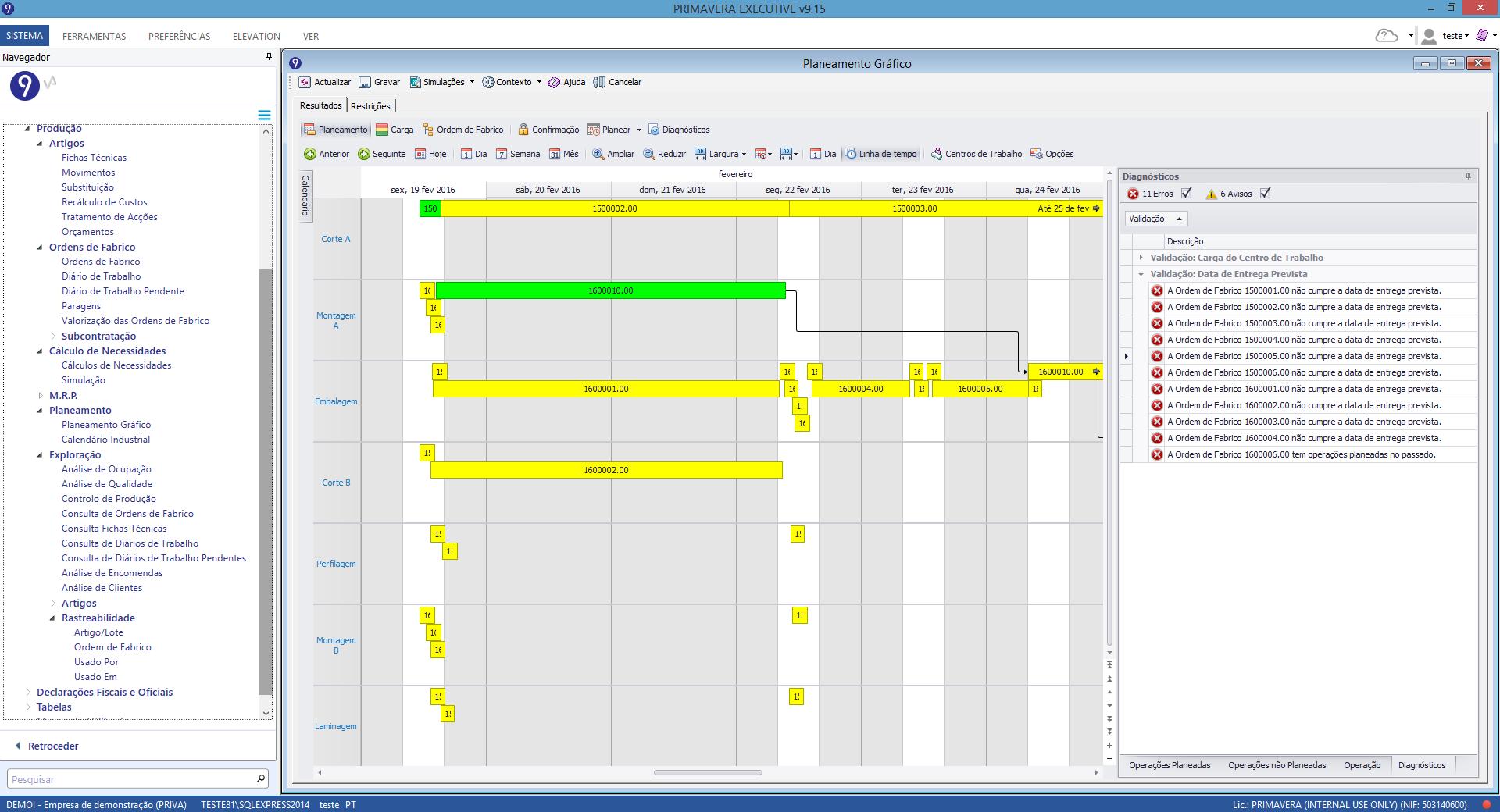 planeamento grafico software de producao
